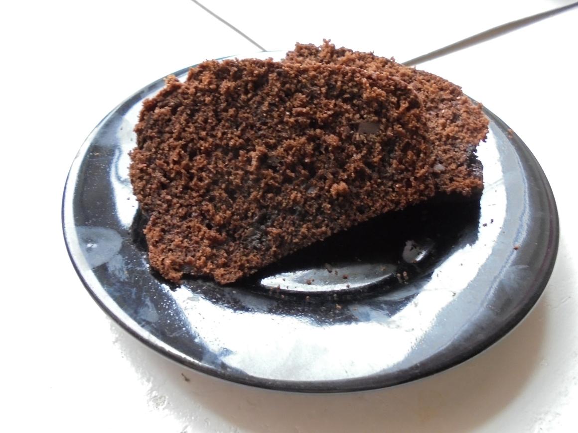 ciasto czekoladowe z musem jabłkowym