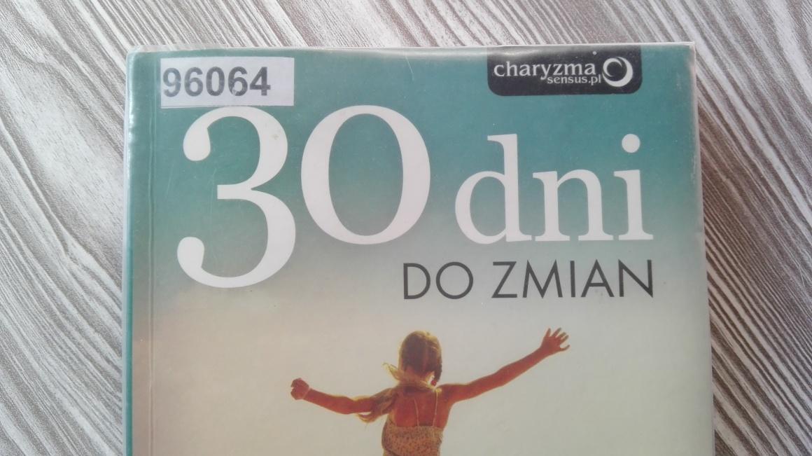 30 dni do zmian Edyty Zając