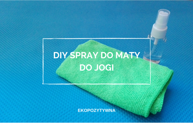 diy spray do maty do jogi